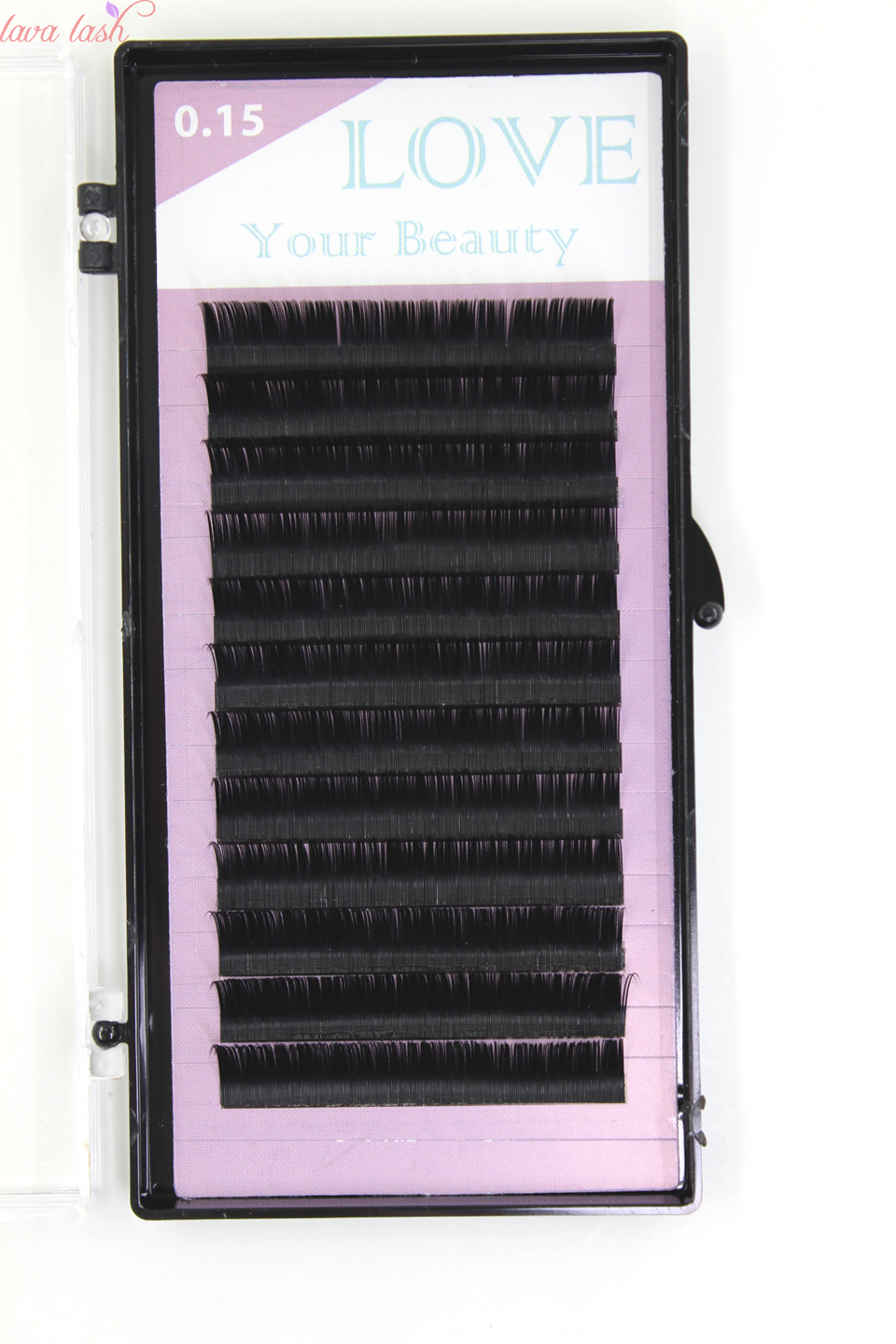 eyelash extensions black material