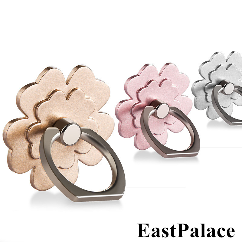 360 Finger Ring Holder For iphone Five grass For Andriod cell Mobile phone Clasp Mount Grip Lazy Stand