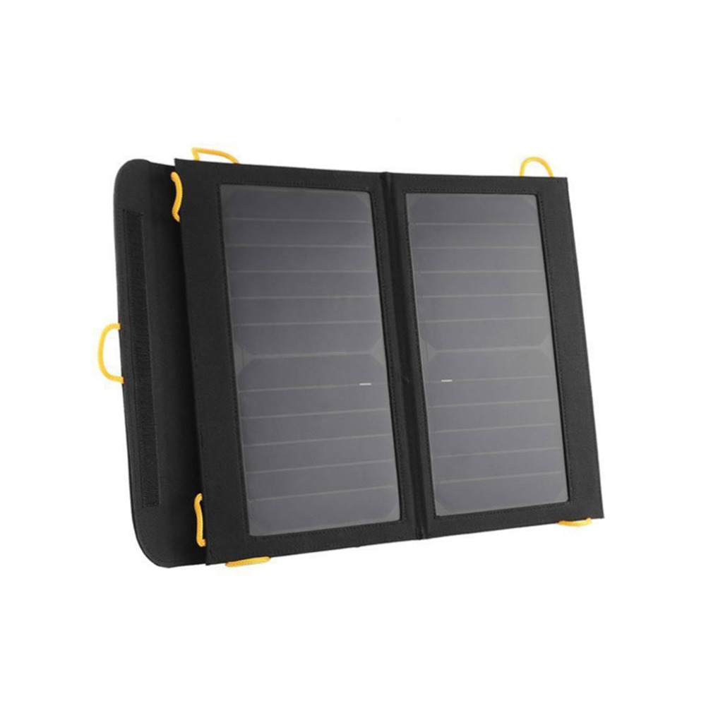 Solar bag Panel Foldable Charger Backup with Dual USB Port for Laptop PC Phone Best Seller<br>