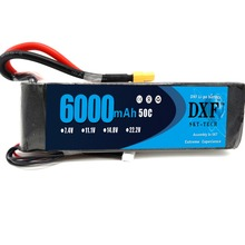 Buy DXF 14.8V 6000mAh 4S Lipo Battery Pack 50C XT60 Connector Plug RC Airplane, RC Helicopter, RC Car/Truck, RC Boat for $55.53 in AliExpress store