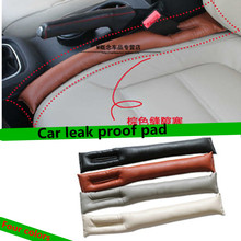Faux Leather Car Seat Gap Pad Fillers Holster Spacer Padding Protective Case Auto Cleaner Slot Plug Stopper Gap Filler sticker