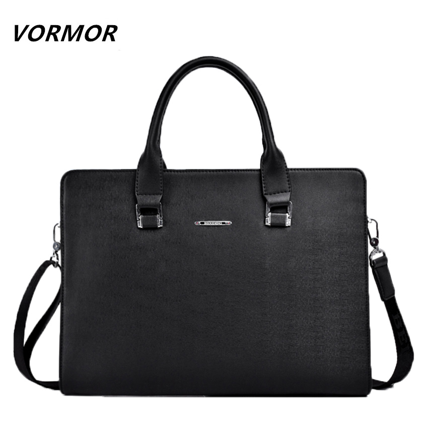VORMOR Mens Messeneger Bag Briefcase Fashion PU Leather Handbag For Man Casual Shoulder Bags  Mens Travel Bag <br><br>Aliexpress