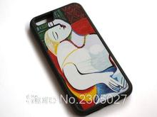 Pablo Picasso - The Dream W68 black Hard Plastic and Sillicon Back Mobile Phone Case Cover for iphone and Samsung Shell