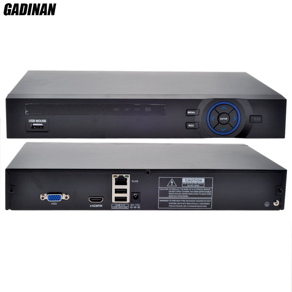 GADINAN Full HD 4CH 1080P NVR or 8CH 960P NVR for 1080P 960P 720P IP Camera ONVIF H.264 HDMI Netwerk Video Recorder 1HDD Port<br><br>Aliexpress