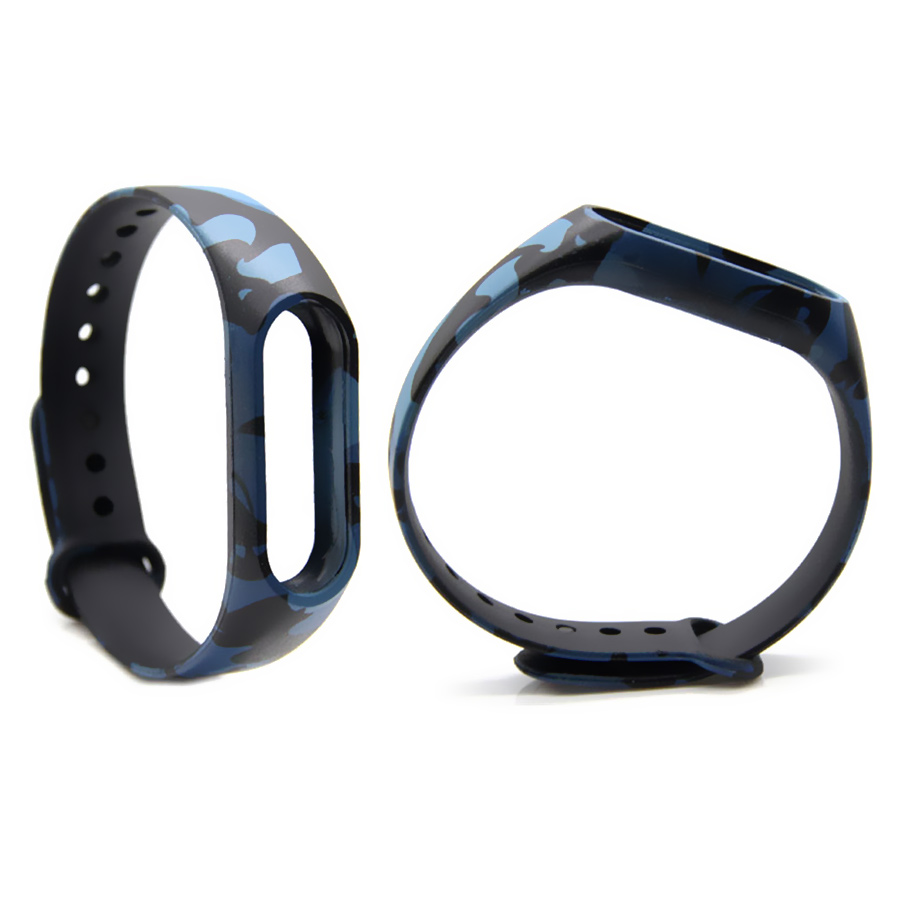 image for Camouflage For Xiaomi Miband 2 Strap Leopard Replacement Strap Smart W