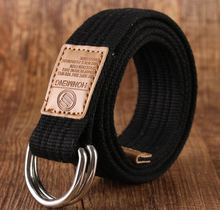 2017 new arrival men's canvas belt Alloy buckle military belt Army tactical belts for Male top quality men strap Black Red 115cm