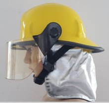 High Quality American Style Fire Safety Helmet Could wear the SCBA Mask Freely Big Visor Helmet