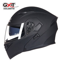 High Quality Flip Up Racing Helmet Modular Dual lens Motorcycle Helmet full face Safe helmets Casco capacete casque moto M L XL