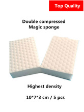 High density double compressed kitchen cleaning melamine sponge magic eraser pad for dish washing/car cleaning quality supplier