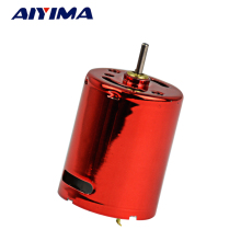 Aiyima Factory Direct Red Magic 370 DC Motor For Water Bomb 7.4V 11.1V High-Speed DC Motor High Torque
