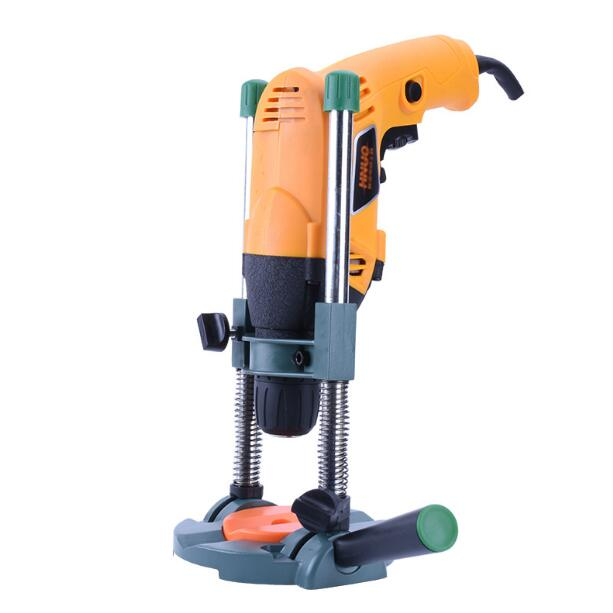 oblique hole positioning bracket Drill Guide Attachment Portable Precision Home Tool Horizontal Vertical Adapter bracket drill<br>