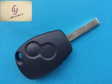 1pcs of New Replacement Key Case For Renault Clio Modus Master Twingo 2 Button remote key FOB blank shell cover Blade VA-2 uncut