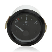 Brand New Auto Instruments Universal New Car Fuel Level Gauge Meter + Fuel Sensor E-1 / 2-F Pointer(China)