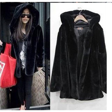 2016 winter new imitation fox fur coat mink Middle East luxury women long coat faux fur coat women large size