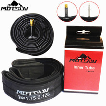 MOTSUV Bicycle Inner Tube Mountain Road Bike 700C 26 27.5 29 American/French Valve Inner Rubber Tube Bicycle Tires Inner Tyre(China)