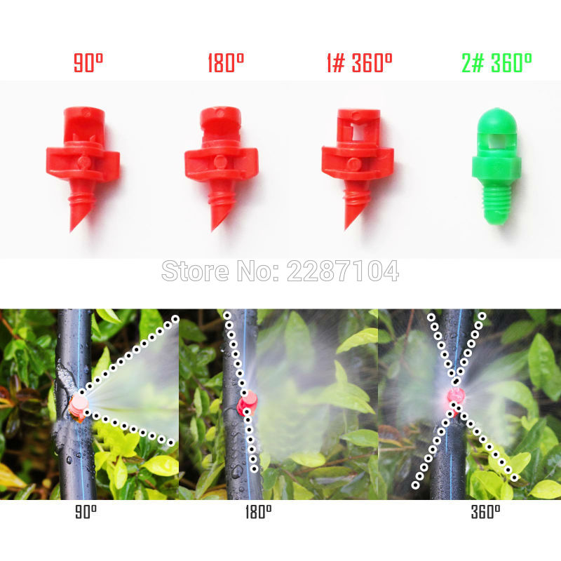10pcs Sprayer Nozzle Jet Mister Cloning Machine Hydroponic Irrigation Heads U VE