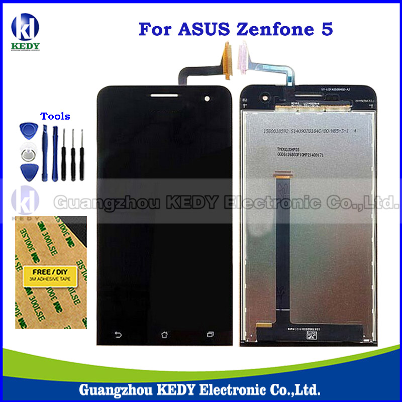 Original LCD Touch Replacements For Asus Zenfone 5 A500CG A501CG T00J T00F LCD Display Screen Digitizer Assembly + Tools<br><br>Aliexpress