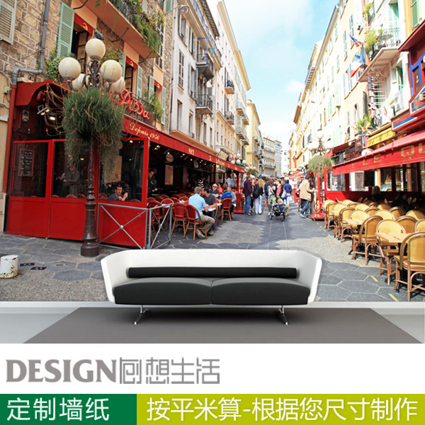 Cafe shop bar background wall paper for living room bedding room mural wallpaper 3d wallpaper<br><br>Aliexpress