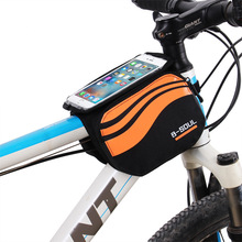 Buy MTB Cycling Bicycle Front Touch Screen Phone Bag Mountain Bike 5.7 inch Cellphone Screen Saddle Bag Cycling Bicycle Accessories for $9.99 in AliExpress store