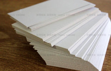 100 Blank White Index Cards Business Card Gift Tag Plain Cardstock Paper 200gsm Note Pad 90 x 54mm(China)