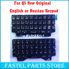 For BlackBerry Q5 original New  Mobile Phone Housing English / Russian Keypad Cover Keyboard Case