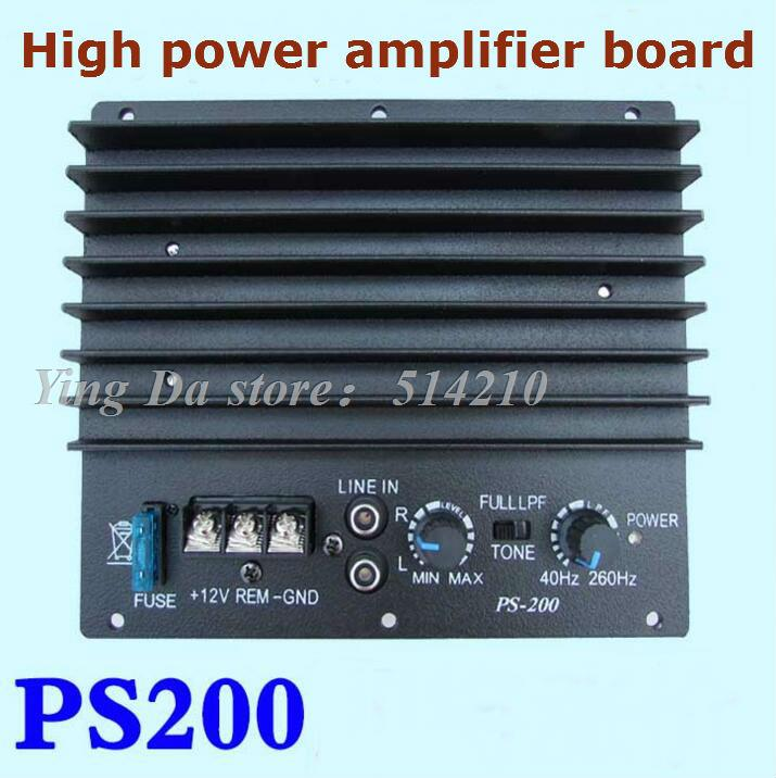 High power amplifier board Mono car stereo subwoofer 12V car alarms DIY for 6 -8-10 inch speakers <br><br>Aliexpress