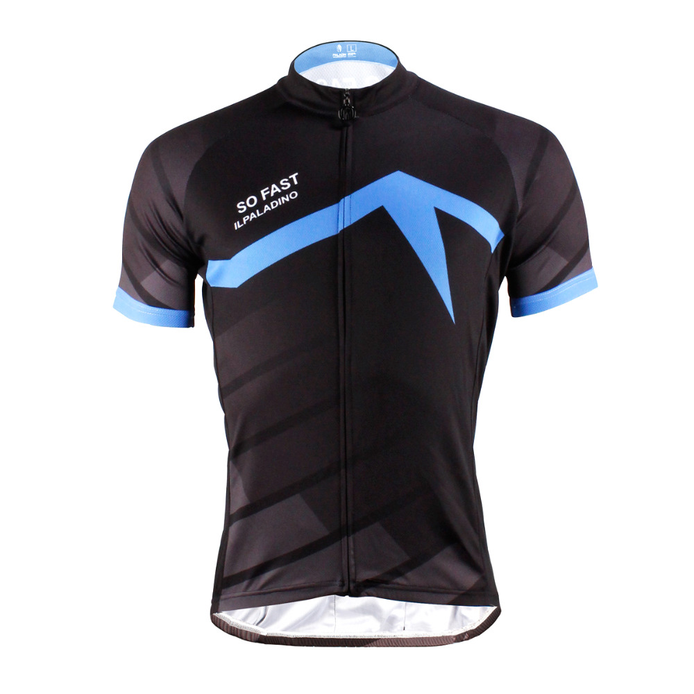 Free shipping Bike Clothes For Men Polyester top Sleeve Breathable Cycling Jersey Black top bike Size S To 6XL<br><br>Aliexpress