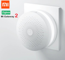 Xiaomi Smart Home Multi-function Gate way Multifunctional GateWay Alarm System Socket (zigbee) Temperature Door Sensor Phone APP(China)