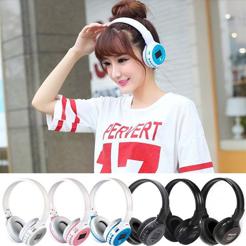 B570 Stereo Wireless Headset Bluetooth Headphone Headband Headset with FM TF LED indicators for mp3 PC Smartphone<br><br>Aliexpress