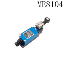 100PCS high quality ME-8104 Position AC DC Limit Switch Of Roller Wheel 1NC 1NO Reset Switch