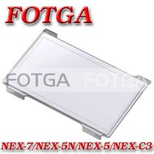 Free shipping!!Wholesale Fotga LCD Monitor Hood Hard Cover Screen Protector for Sony NEX-3 NEX-5 NEX-5C NEX-5N