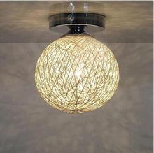Pastoral style Ceiling Lights Home lamp door lights corridor lights porch dining room Ceiling lamp aisle small hall LED lights