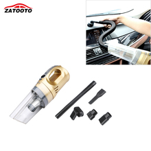 ZATOOTO 120W Car Vacuum Cleaner Wet Dry Dual Use With LED Light Car Vacuum Cleaner Portable Multi-Use Car Accessories