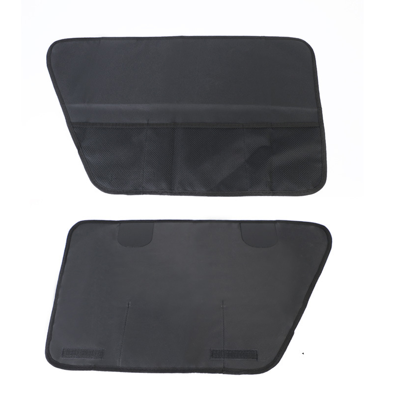 2pcs Pet Car Window Covers For Big Dog Waterproof Prevent Scratching Car Interior Travel Accessories Dog Carriers Car Covers Mat9