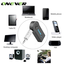 Wireless Car Bluetooth Receiver Adapter 3.5MM AUX Audio Stereo Music Hands-freeHome Car Bluetooth Audio Adapter for Speaker