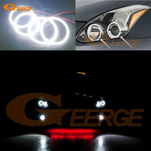 For Nissan Altima Coupe 2010 2011 2012 2013 Excellent Angel Eyes Ultra bright illumination smd led Angel Eyes Halo Ring kit(China)