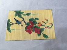"New Printed Placemat for Table Mat Pad Drink Wine Coasters Bamboo Placemats Dining Table Place Mat  12""x18""  1 Piece"