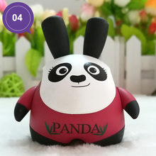 Cute Cartoon Panda Dashboard Decorations Car Auto Seat Ornaments Interior Decor Car Styling Accessories Christmas(China)