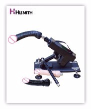 HISMITH New Sex Machine Female Masturbation Pumping Gun with 6 Dildos Attachments Automatic Sex Machines for Women Sex Products 6