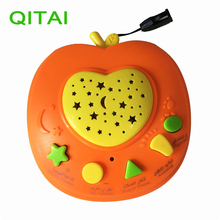 QITAI New Russian Apple Stories Teller,Baby phone kids education toys  Russia Learning Machine Children Educational Learning Toy