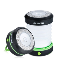 Suaoki Camping LED Lantern Collapsible Light Mini Flashlight Torch Light Water Resistance(China)