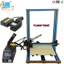 Creality 3d Laser Head Module Desktop 3D Printer CR-10 High precision 3D Printer Machine DIY Kit with Filament heated bed Gift(China)