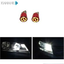 T10 4014 6LED Parking Sidelight Wedge Door Light for Audi A3 A4 B6 B8 B7 A6 C5 C6 Q5 A5 Q7 Q3 TT Quattro R8 SQ5 S3 S4 S5 S6 RS4