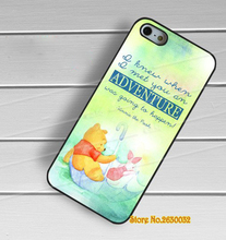 Winnie the pooh quotes fashion cell phone protection case cover for iphone 4 4s 5 5s se 5c 6 6s 6 plus 6s plus 7 7 plus #yf1392