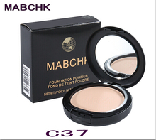 Wholesale - 1Pcs mabchk 15g translucent pressed powder concealer flawless mineral face pressed powder for the makeup foundation