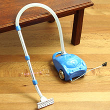 Dollhouse Miniature 1:12 Toy Living Room A Metal Vacuum Cleaner SPO216(China)