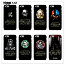Comics image Star Wars cover Case For iPhone 6 6s Plus 5 5s SE 5C 7 7Plus 4 4S Hard plastic Phone Protective sleeve
