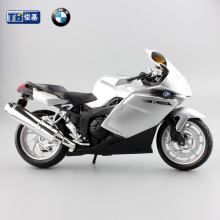 1:12 scale children motor cycle K1200S diecast motorbike Alloy metal models toys motorcycles racing car collection gift for boys