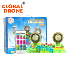 Global Drone MP3 learning machine electronic building blocks 4GB integrated circuit building toys educational toys
