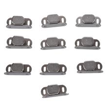10 pcs Silver Metal Single magnet lock for cabinet door cabinet
